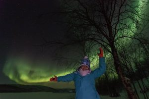 New Years Eve In Lapland Under The Northern Lights